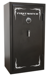 Homak Security - BH50136240 -Electronic 24 Gun Black Hills Safe - 1400°/30 Minutes