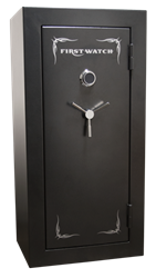 Homak Security - BR50135240 - Electronic 24 Gun Blue Ridge Safe - 1400°/45 Minutes