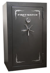 Homak Security - BR50125360 -Mechanical 36 Gun Blue Ridge Safe - 1400°/45 Minutes
