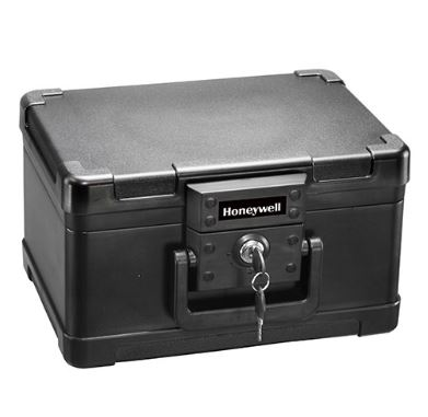 Honeywell 1101 .15 cu. ft. Molded Fire Chest w/ Key Lock
