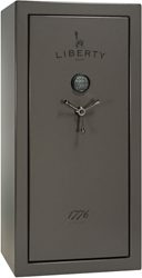 Liberty Gun Safe - 1776 Series 23 - USA Made 25 Gun Safe - 60 Min @ 1200° Fire Rating