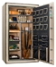 Liberty Gun Safe - National Classic Plus Series 50 - USA Made 39 Gun Safe - 110 Min @ 1200° Fire Rating - LB-CP50-BUM-BR-M