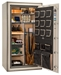 Liberty Gun Safe - National Classic Series Plus 40 - USA Made 33 Gun Safe - 110 Min @ 1200° Fire Rating - LB-CP40-BUM-BR-M