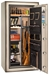 Liberty Gun Safe - National Classic Plus Series 25 - USA Made 22 Gun Safe - 110 Min @ 1200° Fire Rating - LB-CP25-BUM-BR-M