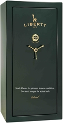 Liberty Gun Safe - Colonial Series 23 - USA Made 25 Gun Safe - 60 Min @ 1200° Fire Rating