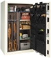 Liberty Gun Safe - Franklin Series 35 - USA Made 35 Gun Safe - 75 Min @1200° Fire Rating - LB-FR35-BKT-CP-M