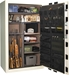 Liberty Gun Safe - Franklin Series 50 - USA Made 41 Gun Safe - 75 Min @1200° Fire Rating - LB-FR50-BKT-CP-M
