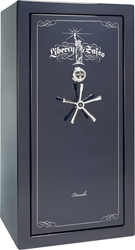 Liberty Gun Safe - Lincoln Series 25 - USA Made 24 Gun Safe - 90 Min @ 1200° Fire Rating