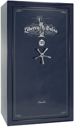 Liberty Gun Safe - Lincoln Series 50 - USA Made 41 Gun Safe - 90 Min @ 1200° Fire Rating