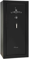 Liberty Gun Safe - Private Series 20 - USA Made 22 Gun Safe - 30 Min @ 1200° Fire Rating