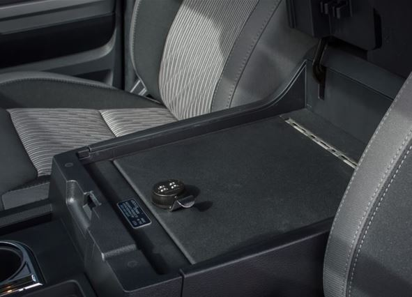 Lock Er Down Console Safe 2014 2019 Toyota Tundra Full