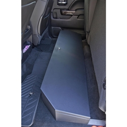 Locker Down SUVault® Model LD3011 2007 - 2019 Silverado / Sierra Crew Cab Under Seat Long Gun Safe