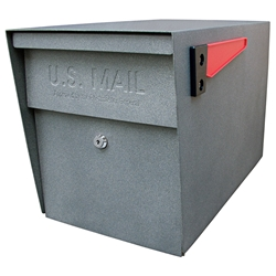 MailBoss 7105 Locking Security Mailbox - Granite