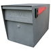 MailBoss 7105 Locking Security Mailbox - Granite - GS7105