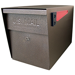 MailBoss 7108 Locking Security Mailbox - Bronze