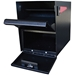 MailBoss 7206 Package Master Locking Security Mailbox - Black - GS7206