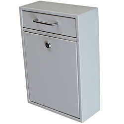MailBoss Locking Drop Box - 5x17x12