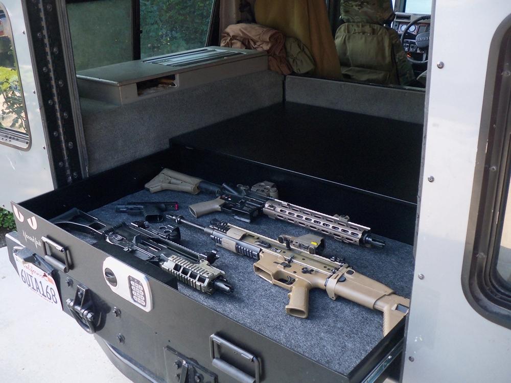 Monstervault Underbed Or Full Size Vehicle Safe 4828