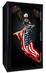 Old Glory Tactical Gun Safe - Battle Ready - Wings of Freedom Old Glory,