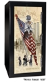 Old Glory Tactical GunSafe - Never Forget 9/11 - 24 Gun Capacity - 2 Hour Rating - 6030-NF911