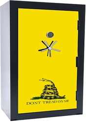 Old Glory Tactical Gun Safe - Gadsden Flag - 45 Gun Capacity - 2 Hour Rating
