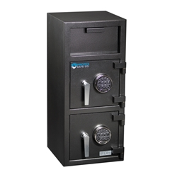Protex FDD-3214 Safe - B-rated Narrow Dual Compartment Depository Safe