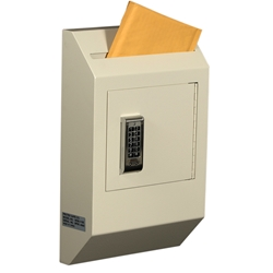 Protex WDB-110E Letter Size Wall Drop Box w/ Electronic Lock