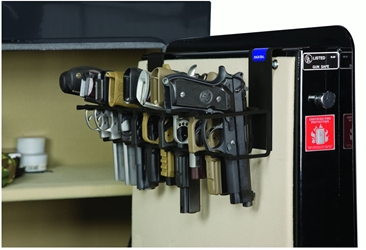 Rackem 6030 The Holster - 9 Pistol Rack