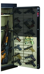 Rackem 6032 Half Door Bottom Mount - 8 Pistol Rack