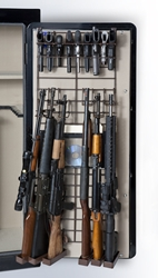 Rackem 6038 Maximizer - Full Door - 6 Rifles/19 Pistols (Add-On Rack is Brown)