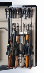 Rackem 6039 Maximizer - Full Door - 6 Rifles/22 Pistols (Add-On Rack is Brown)