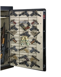 Rackem 6043 The Maximizer Full Door 24 Pistol Rack