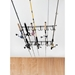 Rack'em 7009 Overhead Indoor/Outdoor 12 Rod Rack  - 7009
