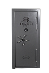 Reed Custom - Model 3064 SS Safe - SS7 Collection - 10 Gun 90 Minute Fire Rating - 7 Gauge 409 Stainless Steel