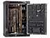 Rhino Ironworks AIW6042X 130 Minute Fire : 54 Long and 8 pistol pockets Gun Safe - AIW6042X