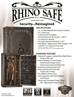Rhino Ironworks AIW7242X 130 Minute Fire : 54 Long and 10 pistol pockets Gun Safe - AIW7242X