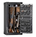 Rhino Ironworks CIWD6030X 85 Minute Fire 28 Long Guns 6 Pistol Pockets Gun Safe - CIWD6030X