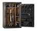 Rhino  Ironworks CIWD6040X 85 Minute Fire 54 Long Gun 8 Pistol Pocket Gun Safe - CIWD6040X
