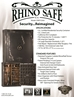 Rhino Ironworks CIWD7256X 85 Minute Fire 76 Long Gun 16 Pistol Pockets Gun Safe - CIWD7256X