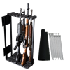 "Rhino Swing Out Rack 13 Gun Fits Safes 36""W or Wider Swing Out Gun Rack System, Rhino, Bighorn, Kodiak"