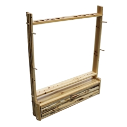 Rush Creek 2-Bow, 12-Arrow Rack with Storage