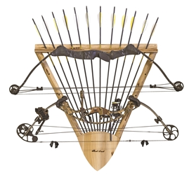 Rush Creek 2-Bow, 12-Arrow Wall Rack