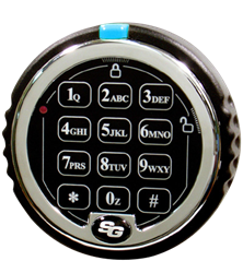 S&G 1007 EMP Resistant Electronic Keypad - Spartan™ Direct Drive Lock and Keypad Kit