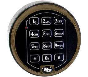 S&G 6123 EMP Resistant Electronic Keypad - Spring Bolt Lock and Keypad