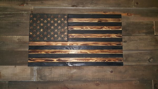 San Tan Wood Works - Burnt Concealment Flag (Standard Size)