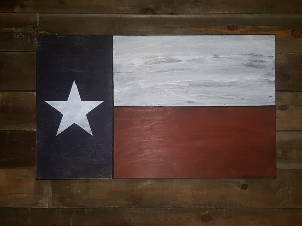 San Tan Wood Works - Little Texan Concealment Flag