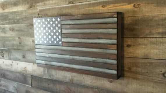 San Tan Wood Works - Rustic Concealment Flag (Standard Size)