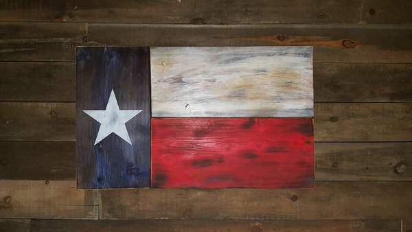 San Tan Wood Works - Texas Concealment Flag (Standard Size)