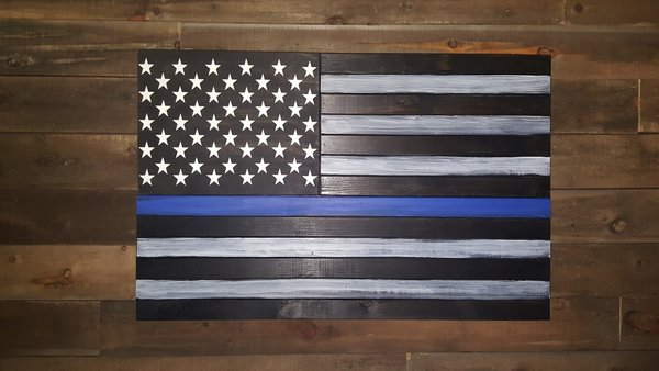 San Tan Wood Works - Thin Line Concealment Flag (Large Size)