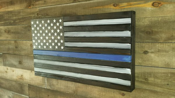 San Tan Wood Works - Thin Line Concealment Flag (Standard Size)